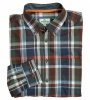 Hoggs of Fife Luthrie Ls Plaid Shirt