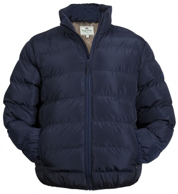 Hoggs of Fife - Rex Quilted Jacket - Dark Navy