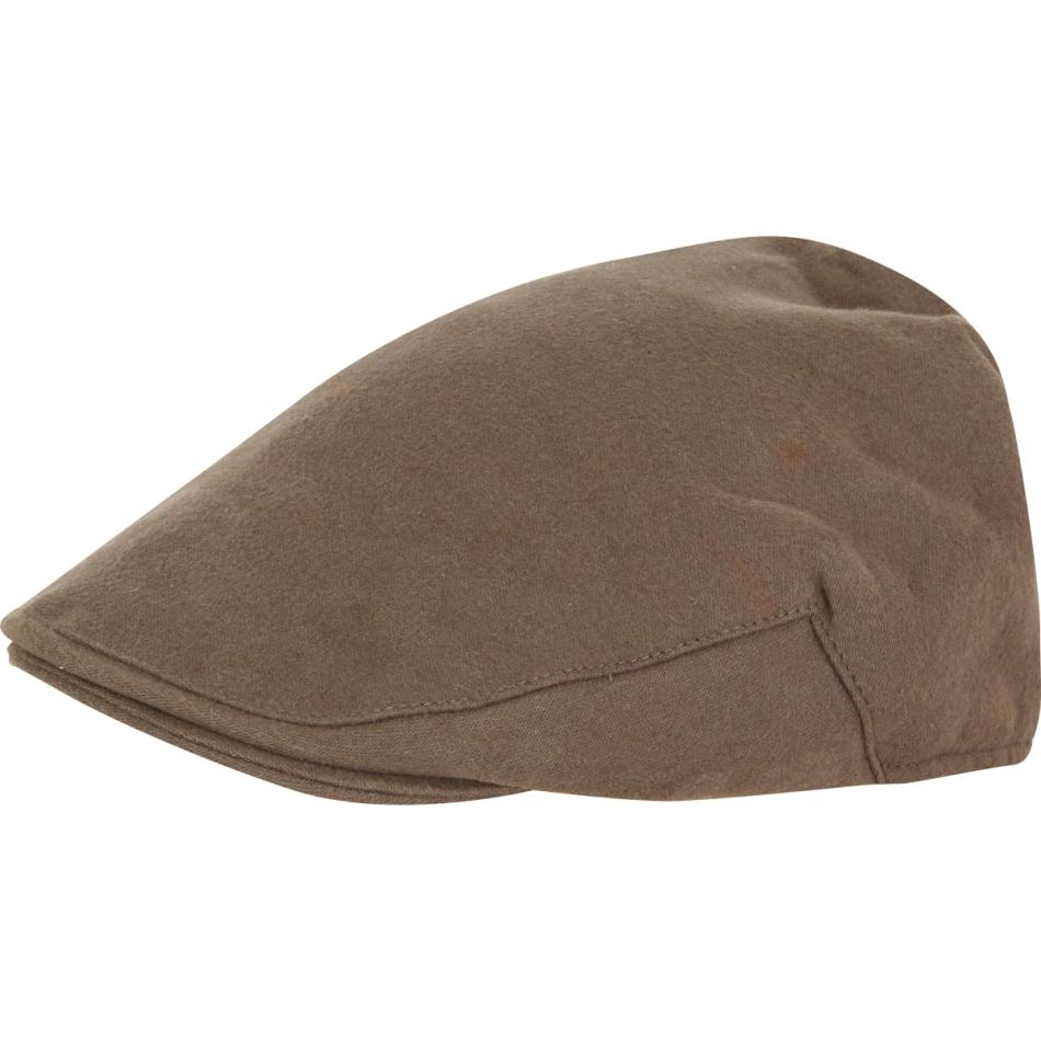 JACK Pyke moleskin Flat Cap