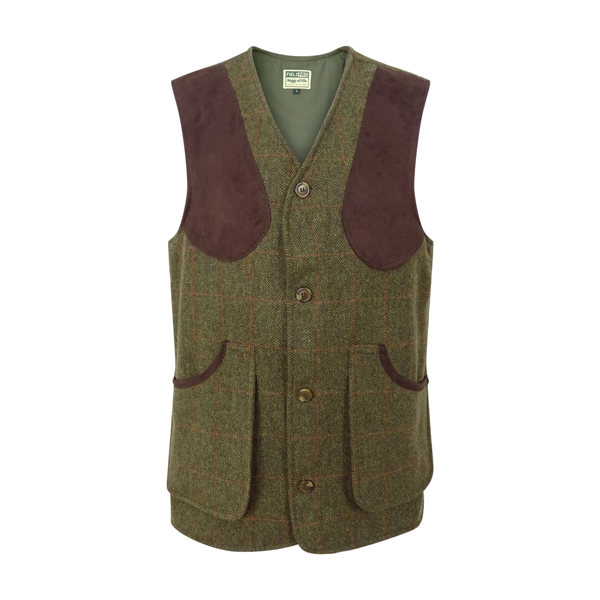 Hoggs of Fife - Harewood Lambswool Tweed Shooting Vest