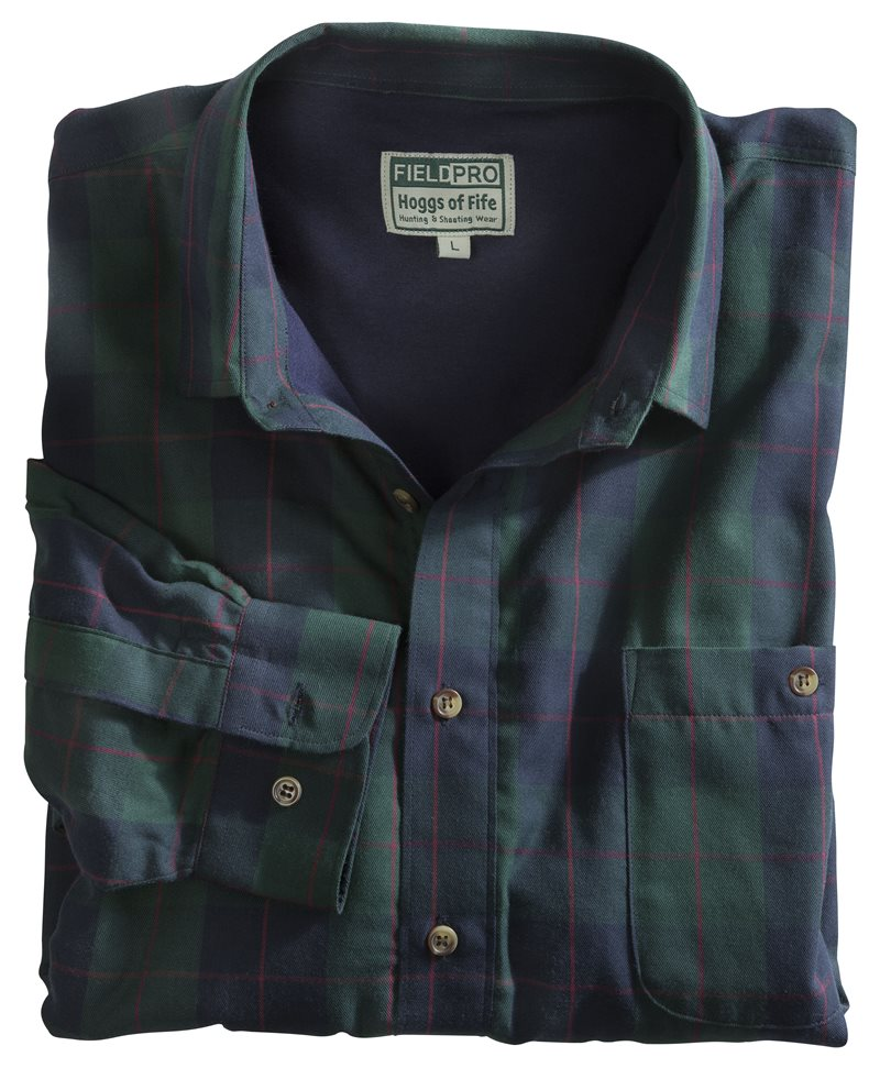 Hoggs of Fife - Strathearn Jersey Lined Shirt