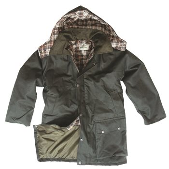 Hoggs of Fife Junior Waxed Jacket