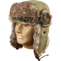 Jack Pyke Wool Blend Trapper Tweed Hat