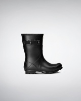 Hunter Womens Norris Field Short Boot - Black