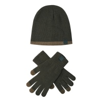 Deerhunter Hat and Gloves set - Graphite Green - One Size