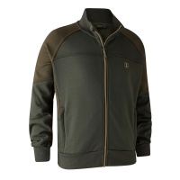 Deerhunter Rogaland Sweat with rib neck - Adventure Green