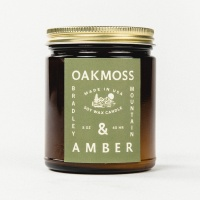 Bradley Mountain - Oakmoss & Amber Candle