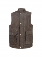 Hoggs of Fife Lomond Leather Waistcoat