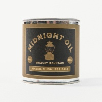 Bradley Mountain - Midnight Oil Candle
