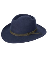 Hoggs Of Fife Perth Crushable Hat - Navy
