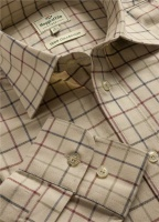 Hoggs of Fife Chieftain Premier Tattersall Shirt