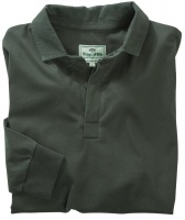 Hoggs of Fife - Premier Cotton Rugby Shirt - Dark Green