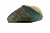 Jack Pyke Wool Blend Baker Boy Hat Patchwork