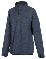 Hoggs of Fife - Woburn All-Season Pullover - Marled Blue