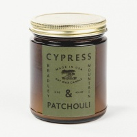 Bradley Mountain - Cypress & Patchouli Candle