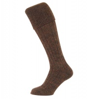 Hoggs of Fife Country Cable Knit Socks