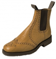 Hoggs of Fife - Banbury Market Boot - Leather Sole