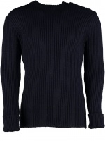 Woolly Pully Welbeck Crew Neck Sweater - Navy