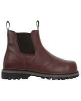 Hoggs Of Fife Zeus Safety Dealer Boot - Full Grain Brown
