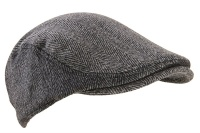Extremities  Parapet Tweed Flat Cap